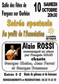 Affiche Alain Rossi