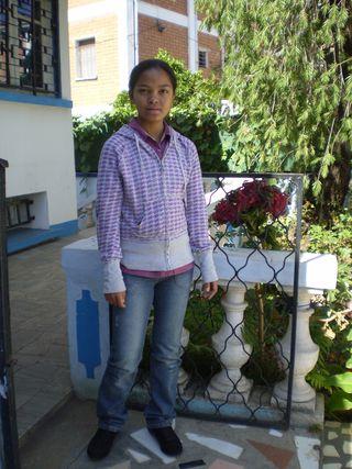 Sariaka guérie et rentrée chez elle