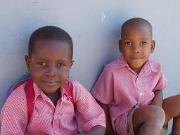 Enfants haiti fevrier 2010
