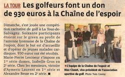 Golf Lyon 23 Oct 2011