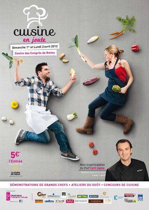 Cuisine en joute - Reims 042012