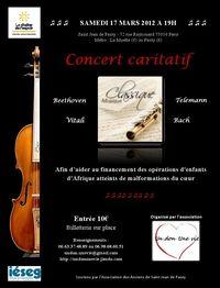 Affiche concert 17 mars
