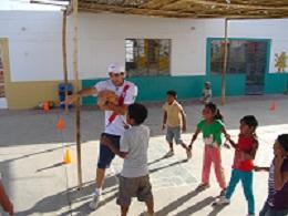 Ecole au Pérou