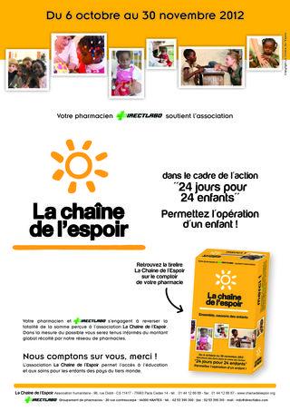 AfficheOfficine_La Chaine de l'Espoir