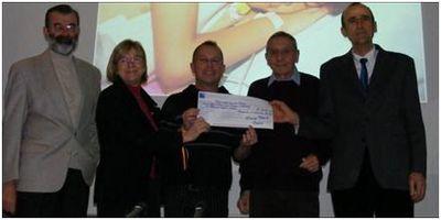 Cahors chèque Rotary Club