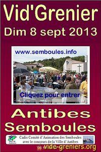 Vide grenier Antibes