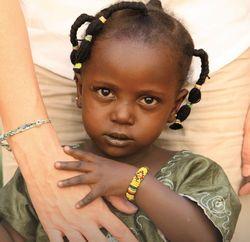 Photo petite africaine
