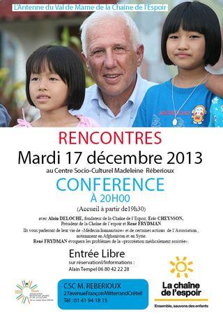 Conférence R Frydman Crreteil 17dec2013