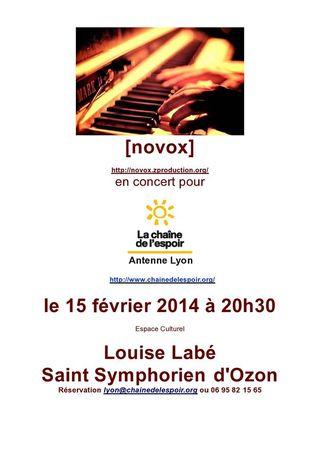 Concert Novox 15fev2013 Lyon