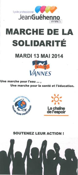 Marche solidaire Vannes