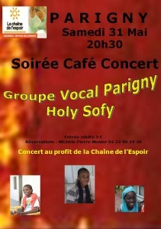 Soirée café concert parigny