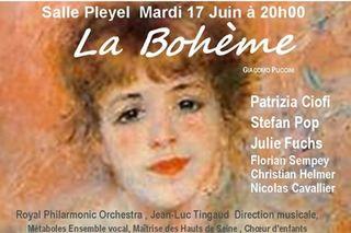 La boheme - salle pleyel