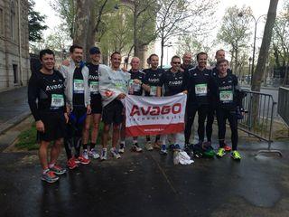 Avago pour la chaine de l'espoir