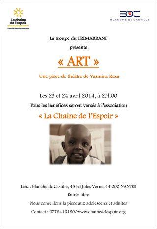 23 24 AVRIL 2014 Theatre Nantes