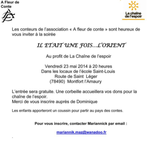 Yvelines Soiree contes 23 mai invitation