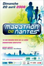 Affiche du marathon de Nantes
